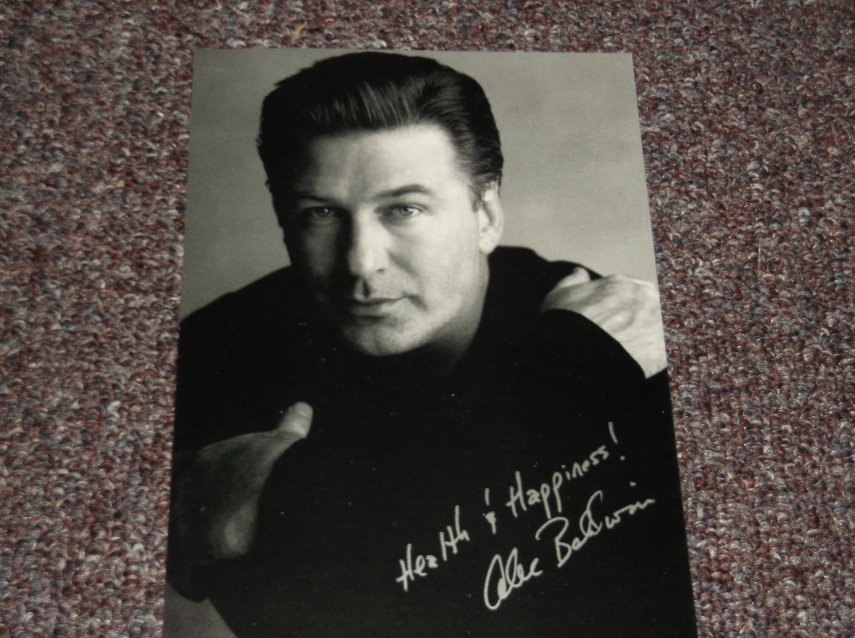 Alec Baldwin reprint autograph 5x7 photo