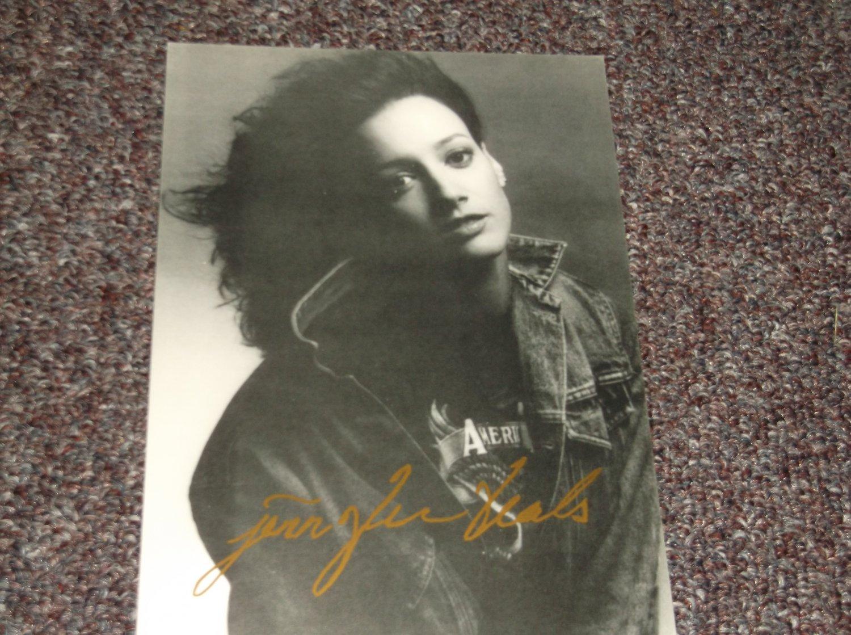 Jennifer Beals autographed reprint 5x7 photo