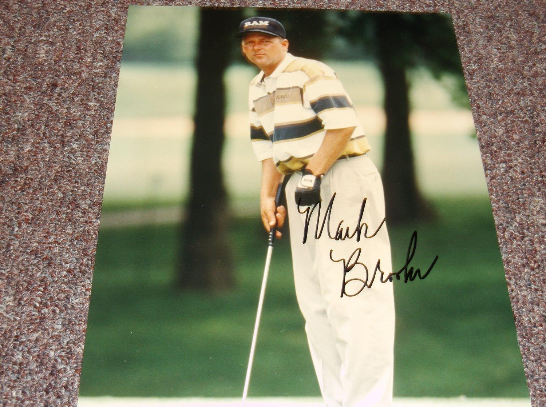 Mark Brooks PGA Golfer signed 8x10 photo