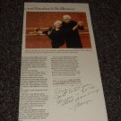 Marge Champion signed inscribed article, dancer