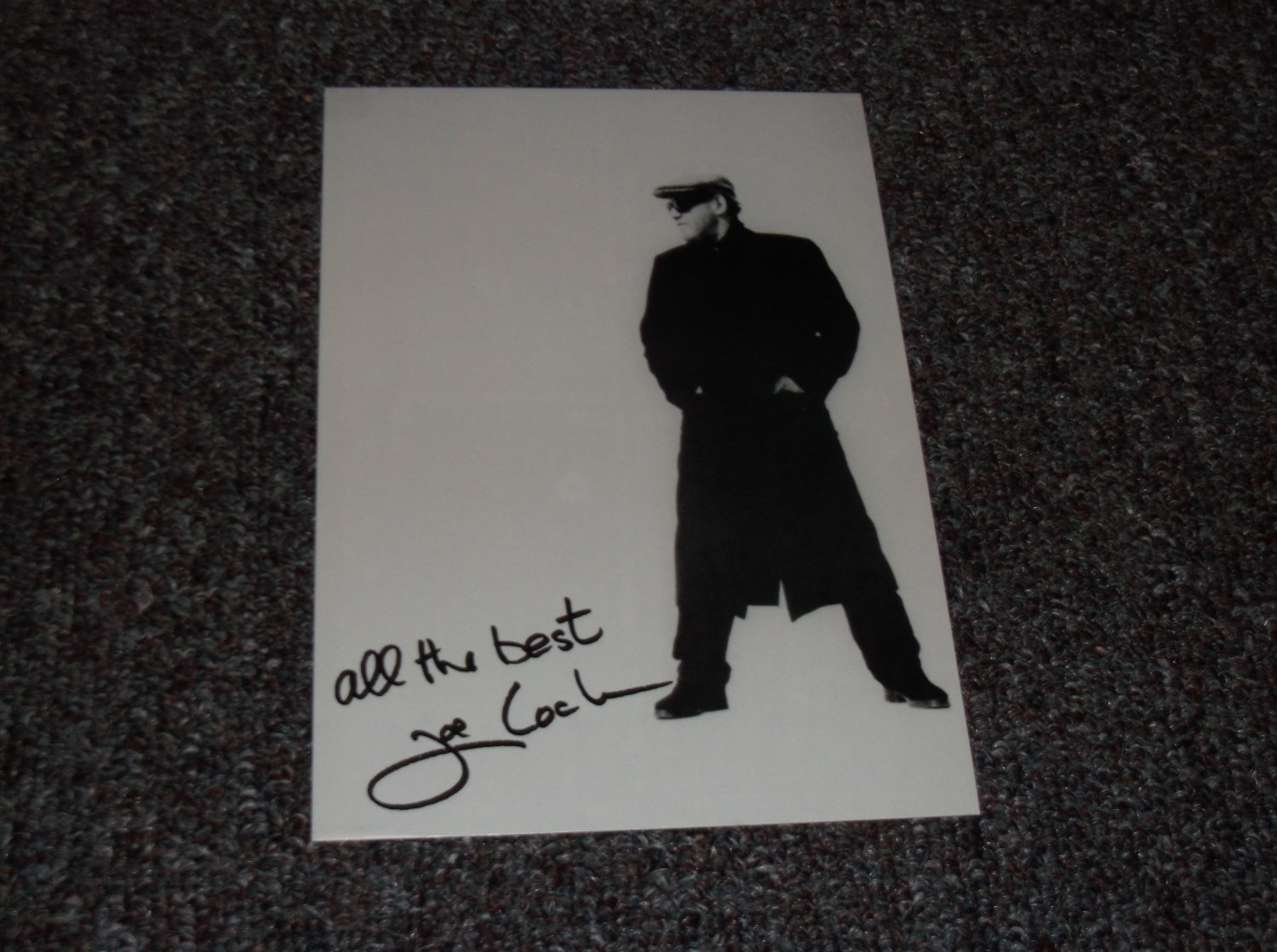 Joe Cocker signed reprint 5x7 photo
