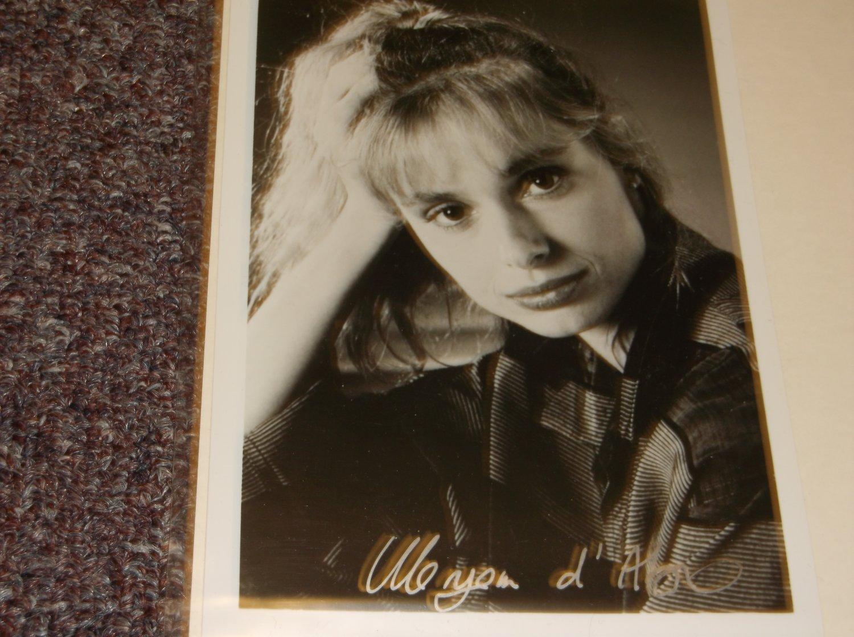 Maryam D'Abo signed 5x7 photo, Bond Girl