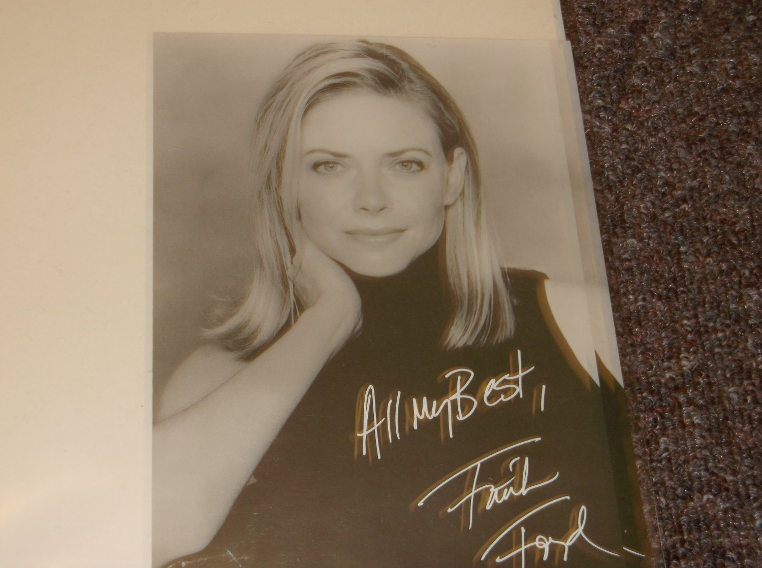 Faith Ford signed reprint 5x7 photo