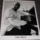 Isaac Hayes (1942-2008) signed 8x10 photo