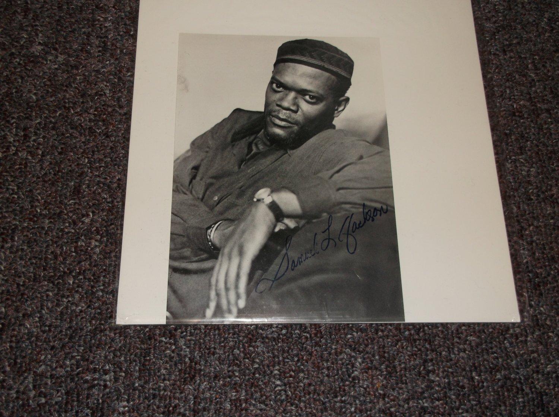 Samuel L. Jackson signed reprint 5x7 photo