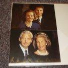 Liechtenstein Royal Family postcards reprint autographs