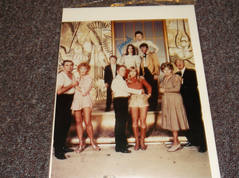 Pamela Sue Martin signed 8x10 Poseidon cast photo