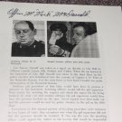 Nick McDonald (1928-2005) signed Oswald article