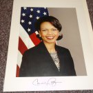 Condoleeza Rice signed 8x10 photo probably autopen