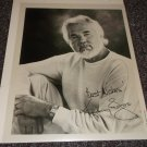 Kenny Rogers signed 8x10 photo maybe reprint