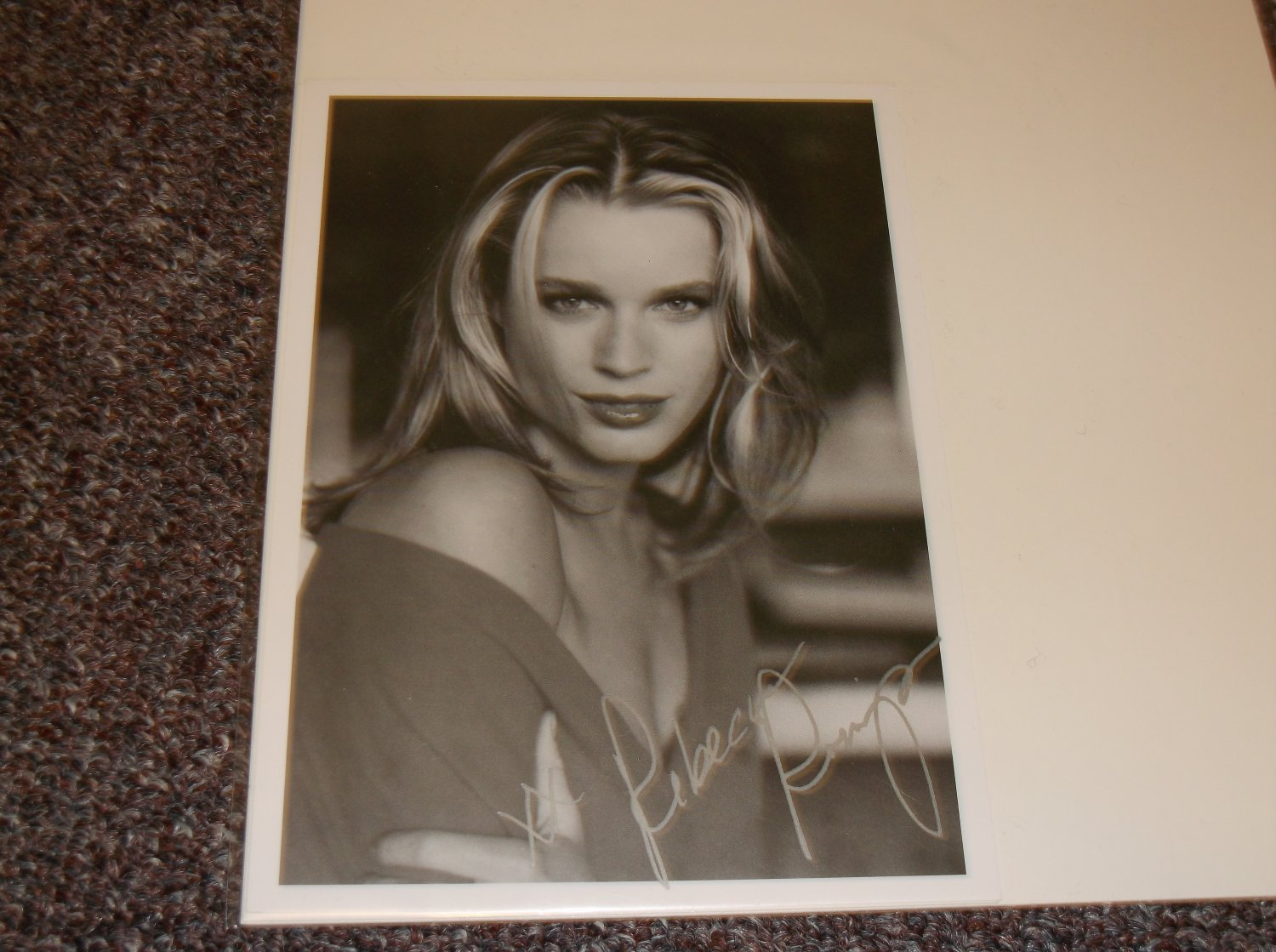 Rebecca Romijn signed reprint 5x7 photo