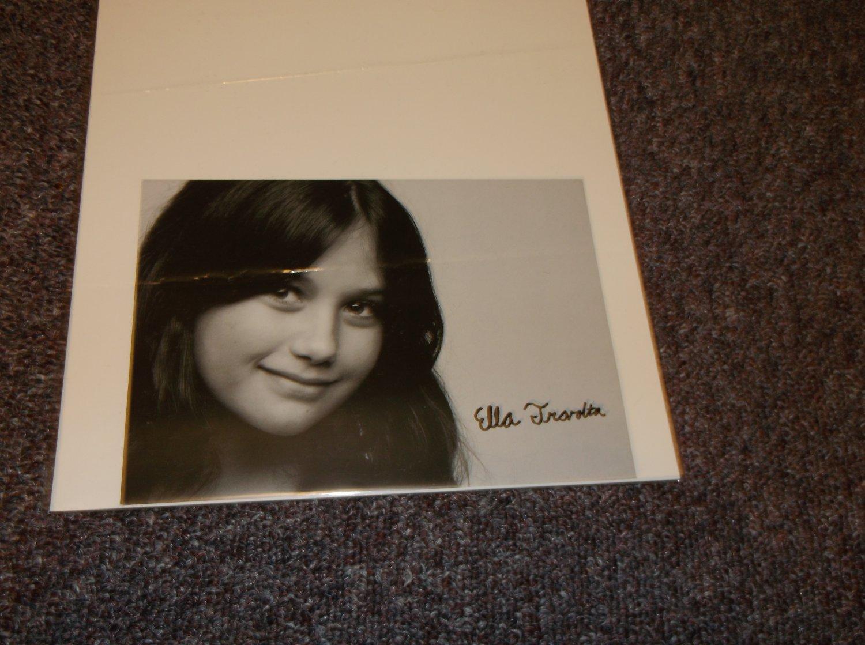 Ella Travolta signed reprint 7x5 photo