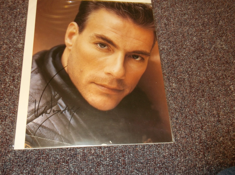 Jean Claude Van Damme signed reprint 8x10 photo