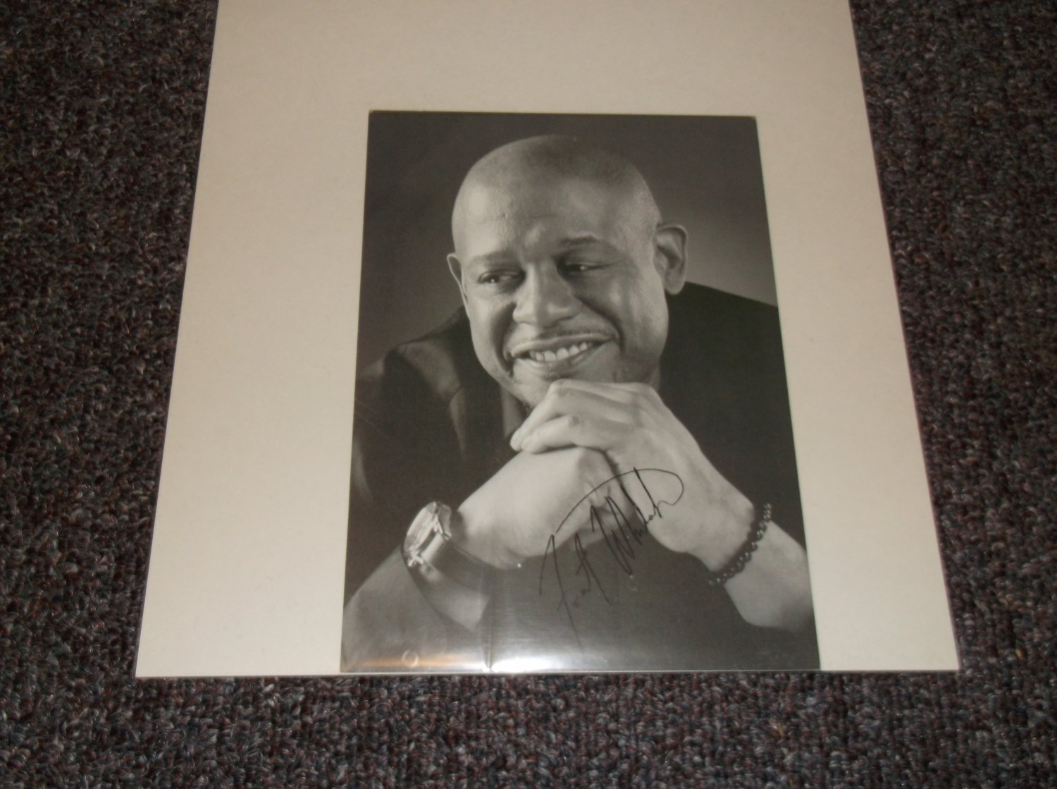 Forest Whitaker signed reprint 5x7 photo
