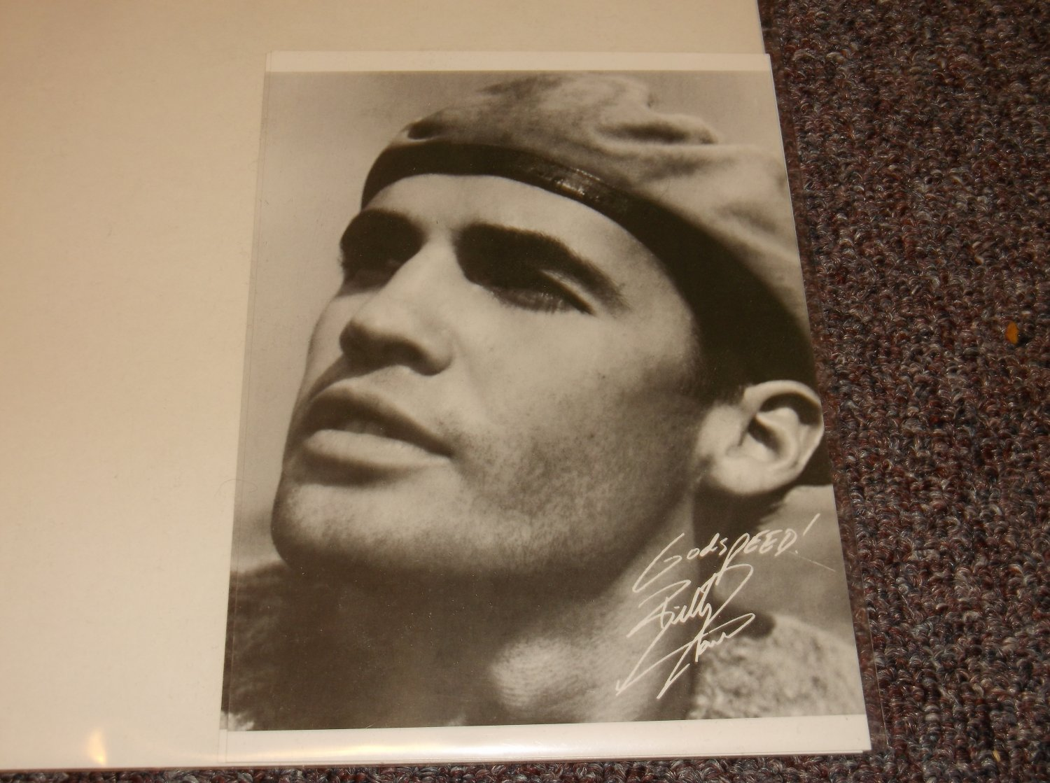 Billy Zane signed reprint 5x7 photo