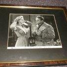 James Cagney 1899-1986 signed photo framed