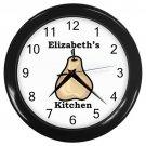 Personalized Single Pear Kitchen Wall Clock
