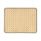Orange Apple Pattern Portable and Foldable Picnic Mat 60 Inches by 78 Inches
