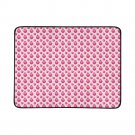 Pink Apple Pattern Portable and Foldable Picnic Mat 60 Inches by 78 Inches