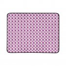 Purple Apple Pattern Portable and Foldable Picnic Mat 60 Inches by 78 Inches