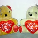 SOFT STUFFED TOY BEAR SMALL 12cm HIGH
