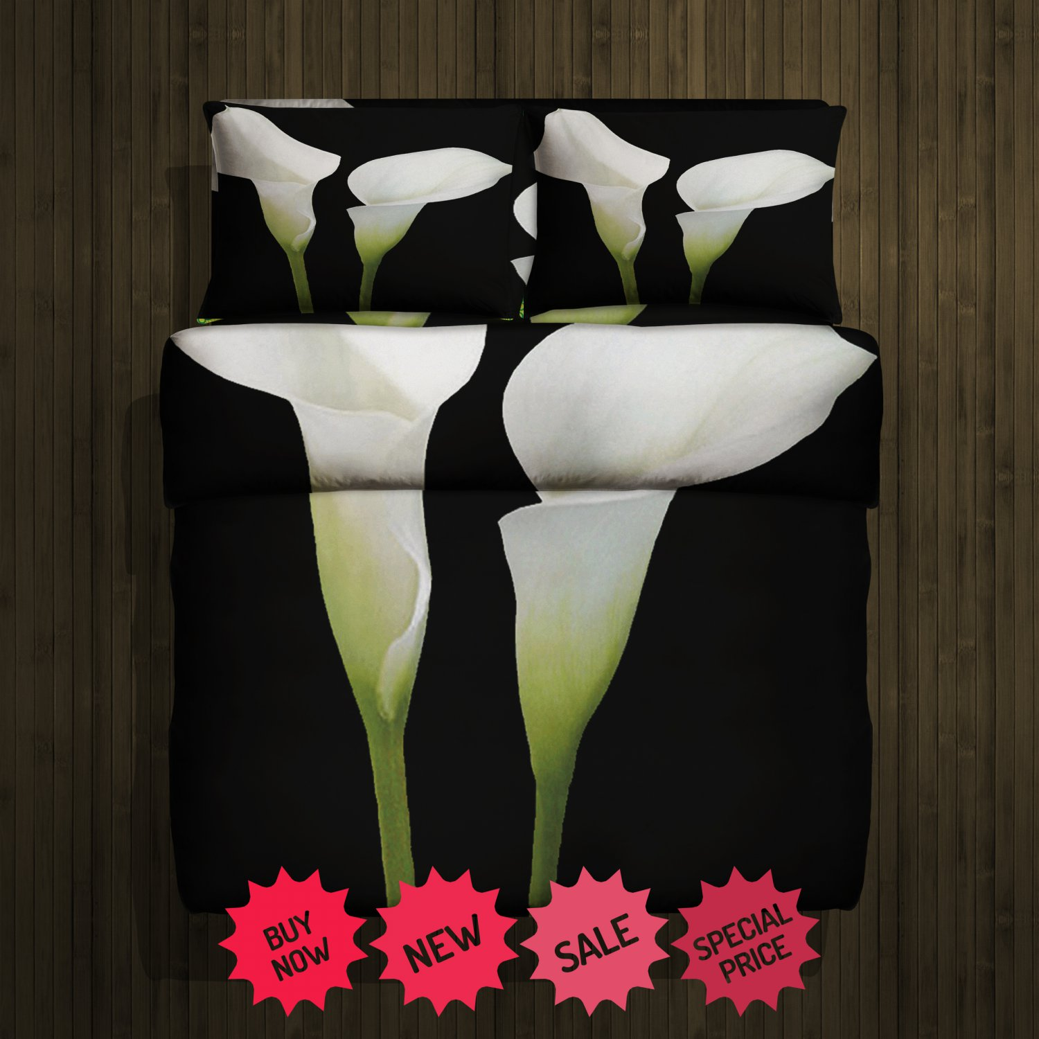 Lily Fleece Blanket Large & 2 Pillow Cases #84638898,84638901(2)