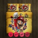 Super Mario Fleece Blanket Large & 2 Pillow Cases #85057678,85057680(2)