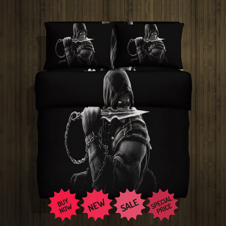 Mortal Kombat Fleece Blanket Large & 2 Pillow Cases #85299208,85299211(2)