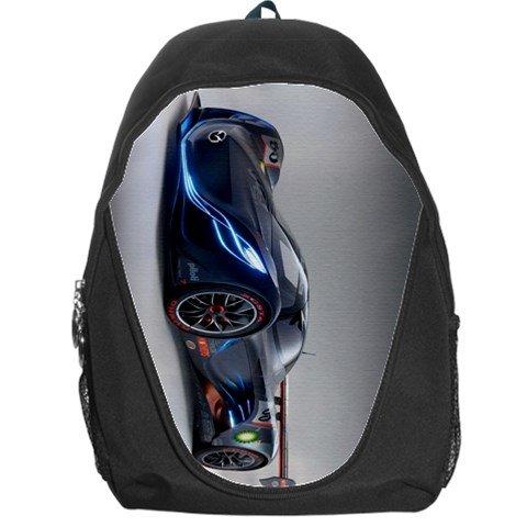 Sports Car Backpack Bag #86493052