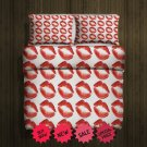 Lips Fleece Blanket Large & 2 Pillow Cases #84643863,84643864(2)