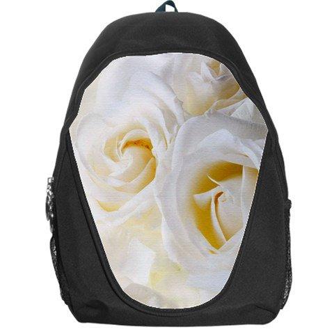 White Roses Backpack Bag #94421723