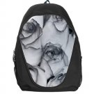 Grey Roses Backpack Bag #94421739