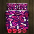 Valentine lips Blanket Large & 2 Pillow Cases #96488608,96488611(2)