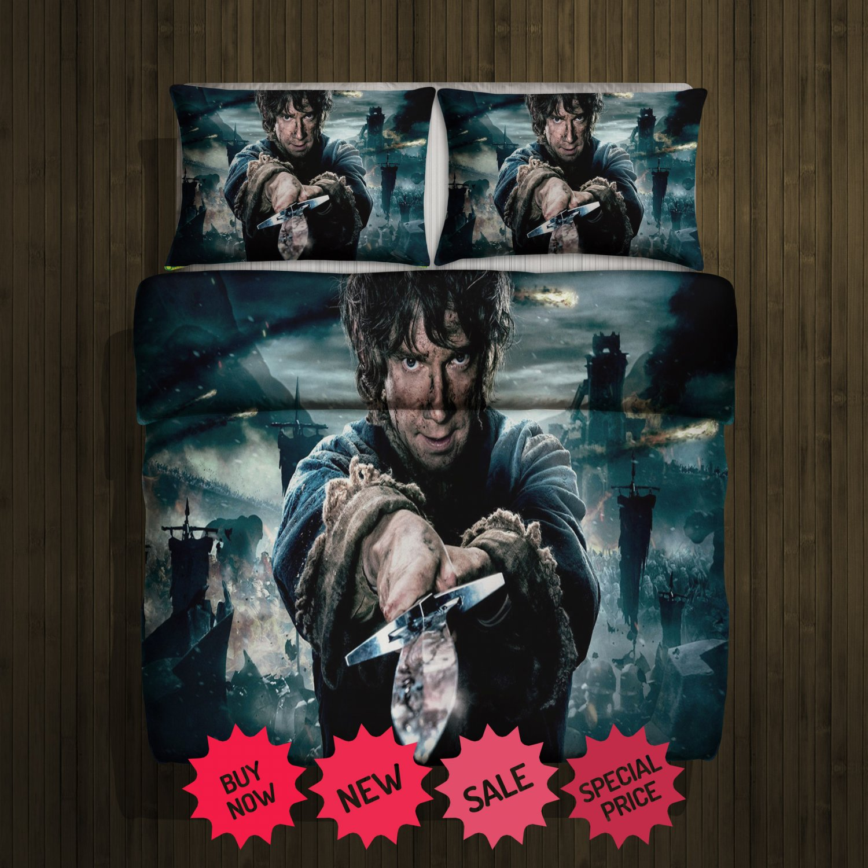 Hobbit Blanket Large & 2 Pillow Cases #97774700 ,97774702(2)