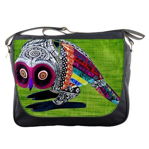 Aztec owl Messenger Bag #98727272