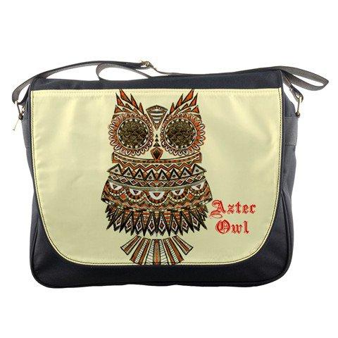 Aztec owl Messenger Bag #98741819