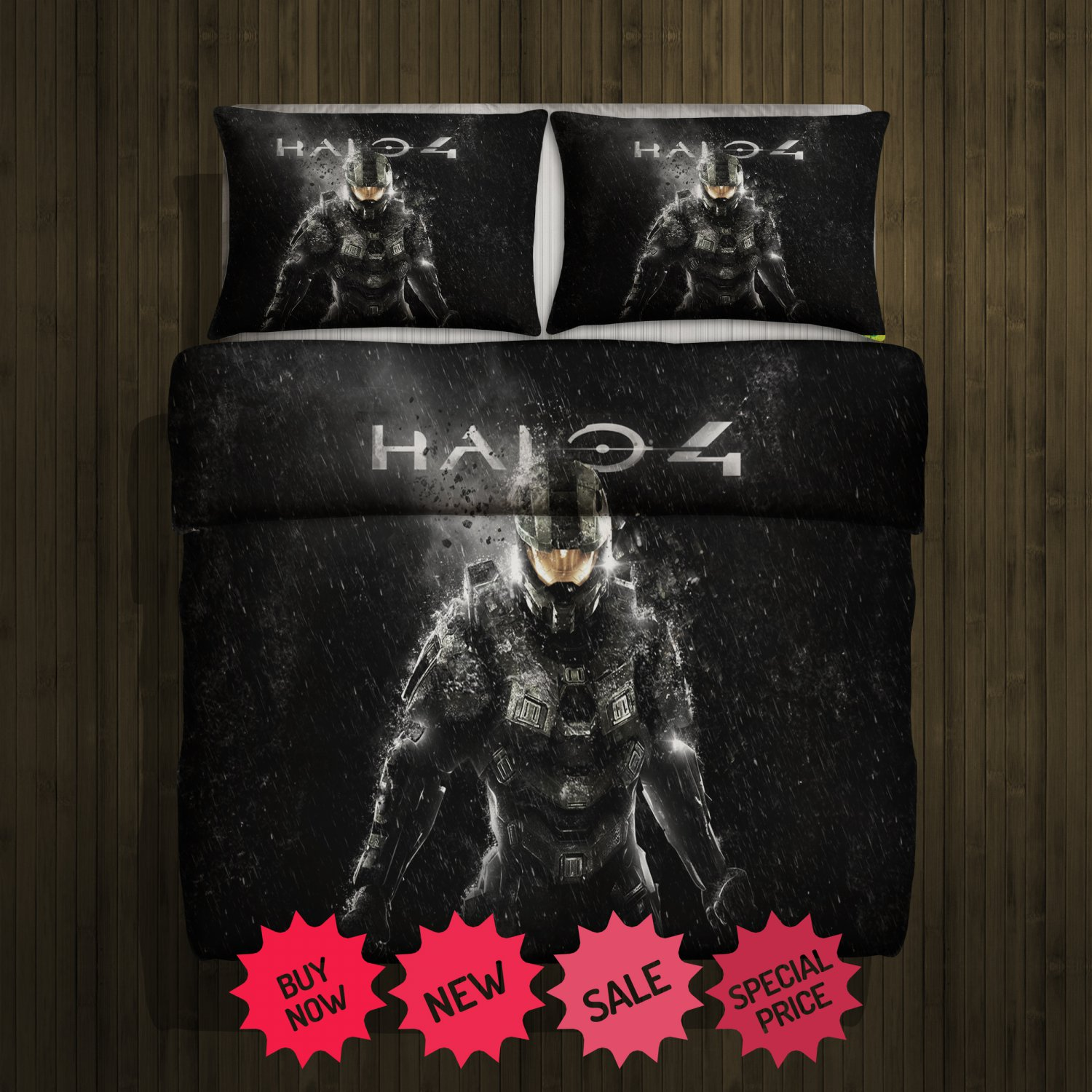 Halo 4 Blanket Large & 2 Pillow Cases #85700294,85700297(2)