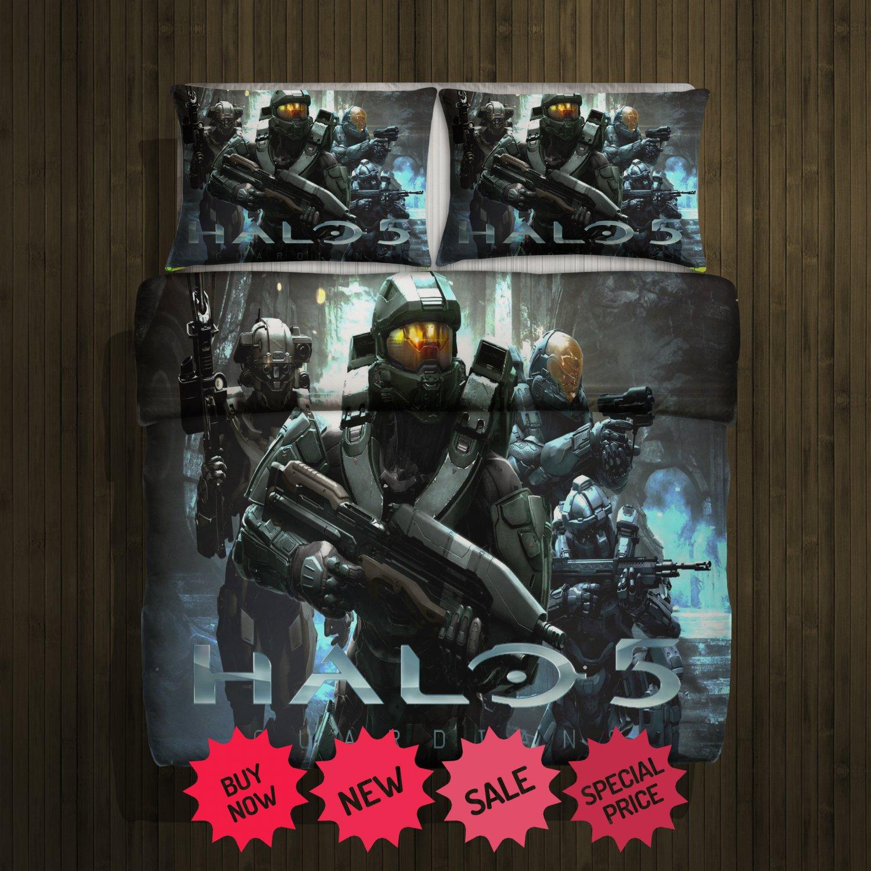 Halo 5 Guardians Blanket Large & 2 Pillow Cases #102919421,102919424(2)