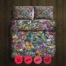 Pokemon Go 2 Blanket Large & 2 Pillow Cases #106838090,106838092(2)