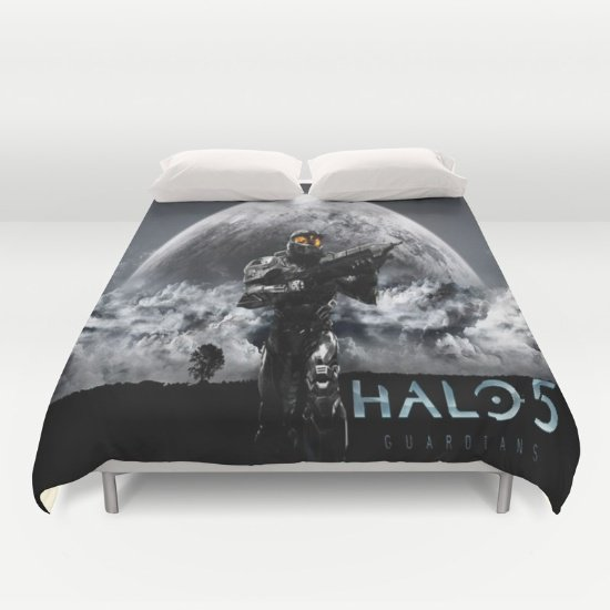 halo 5 duvet Cover Queen