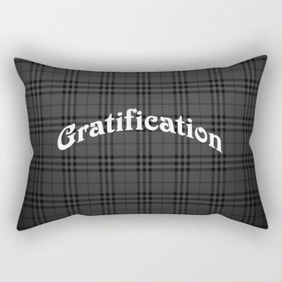 """Gratification Pillow Small 17""""X 12"""""""