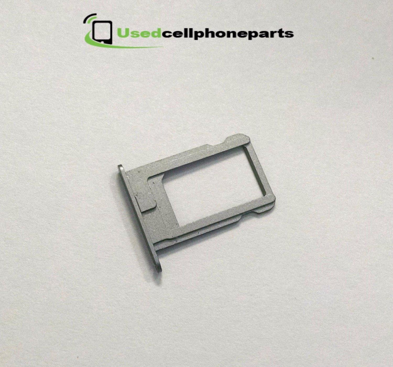 Original OEM Apple IPhone 5 Nano Sim Card Slot Tray Holder Grey