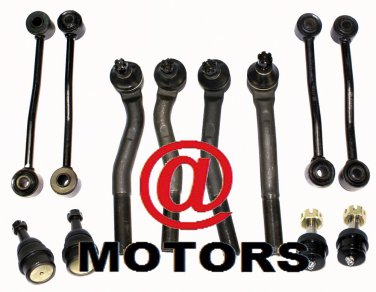 Jeep Grand Cherokee 2WD 4WD 1999 2004 Suspension Sway Bars Tie Rods Ball joints