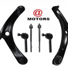 Dodge Caliber Right & Left Inner Outer Tie Rods Front Sway Bar Links Control Arm