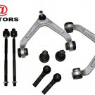 RWD Dodge Ram 2500 3500 Suspension Kit Tie Rods Upper Control Arms Balls RH/LH