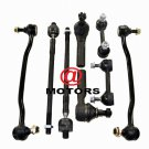 Fits Altima Maxima Steering Kit Right & Left Inner Outer Tie Rods Stabalizer Bar