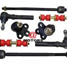 RH&LH Inner & Outer Rack Ends Ball Joints Sway Bar links 2006 Chevrolet Uplander