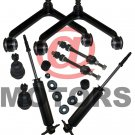 8 Pc Trucks Parts Kit For Dodge Ram 1500 Upper Arms Lower Ball Joint Sway Bar