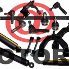 Center Link Tie Rods Control Arms Shocks Absorbers Ball Joint for Nissan Xterra