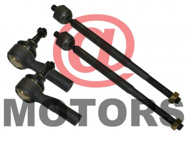 Steering Tie Rod End Inner and Outer For Chevrolet Cobalt HHR Pontiac G5 Pursuit
